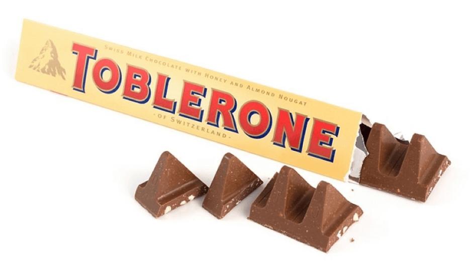 Toblerone chocolade is een prima metafoor voor de suiker- en dopaminepieken die samengaan met suikerverslaving