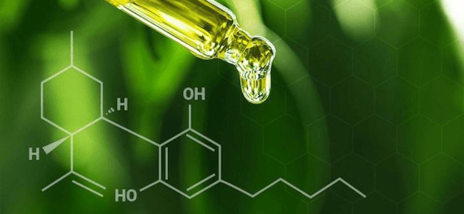 CBD-olie en de moleculaire structuur van CBD